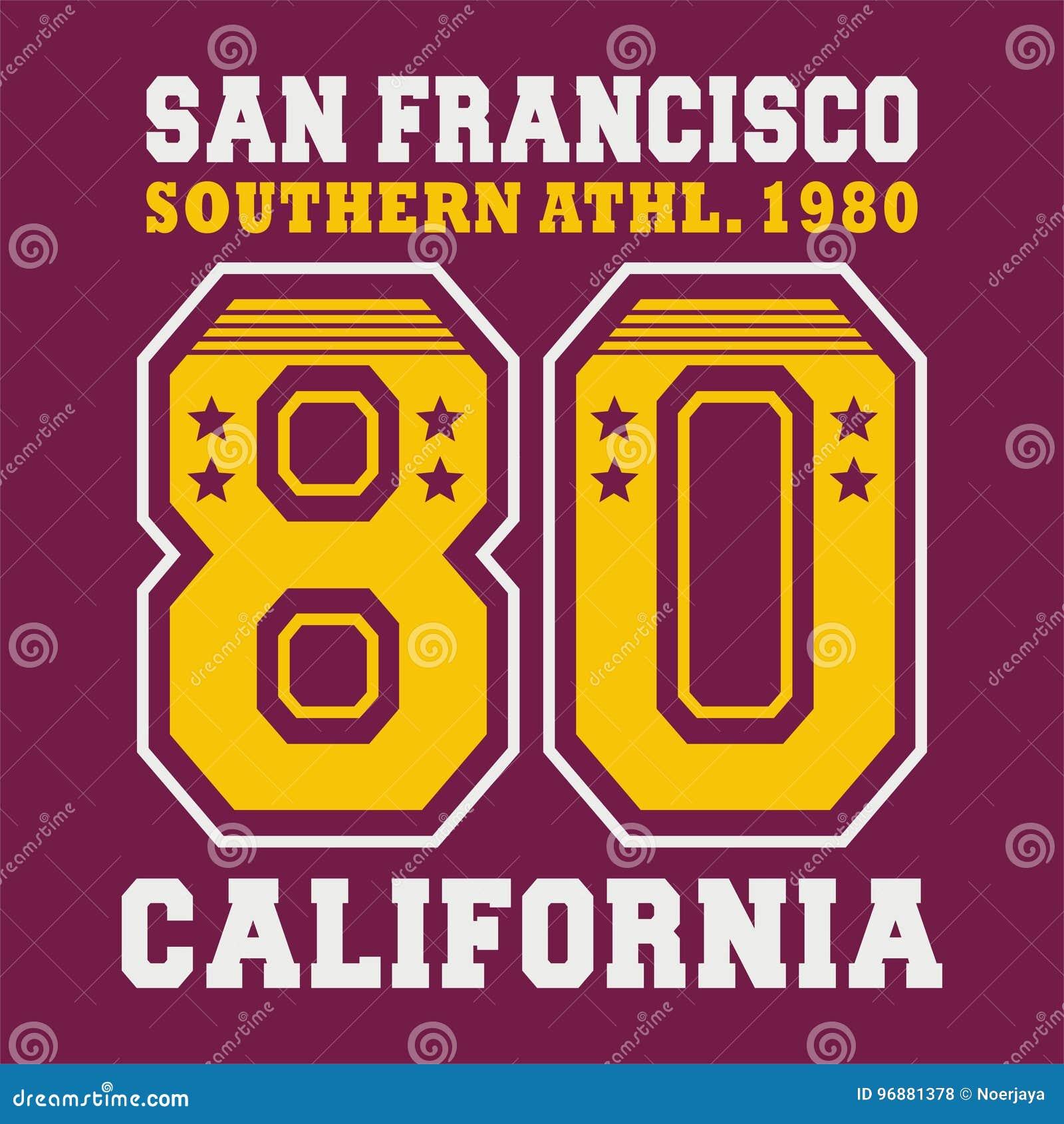 Alfabeto grafico San Francisco
