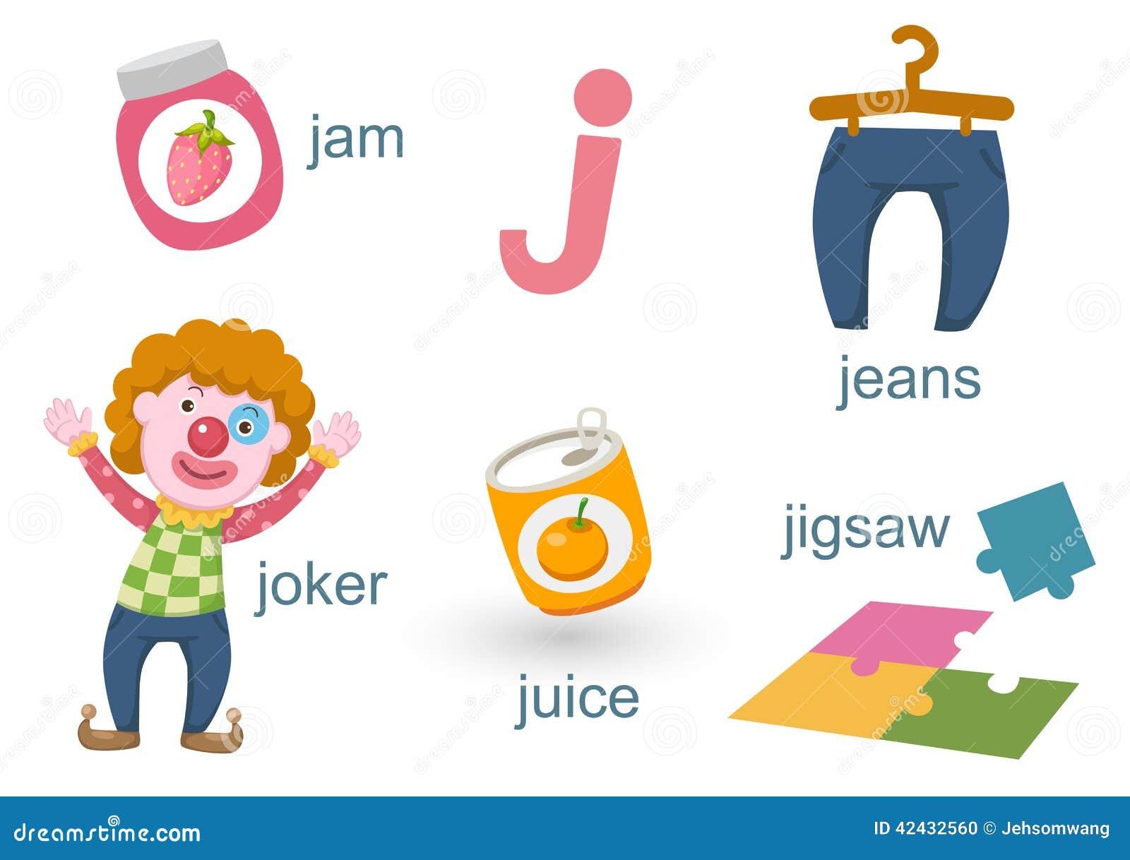 Download Alfabeto J ilustración del vector. Ilustración de cubo - 42432560