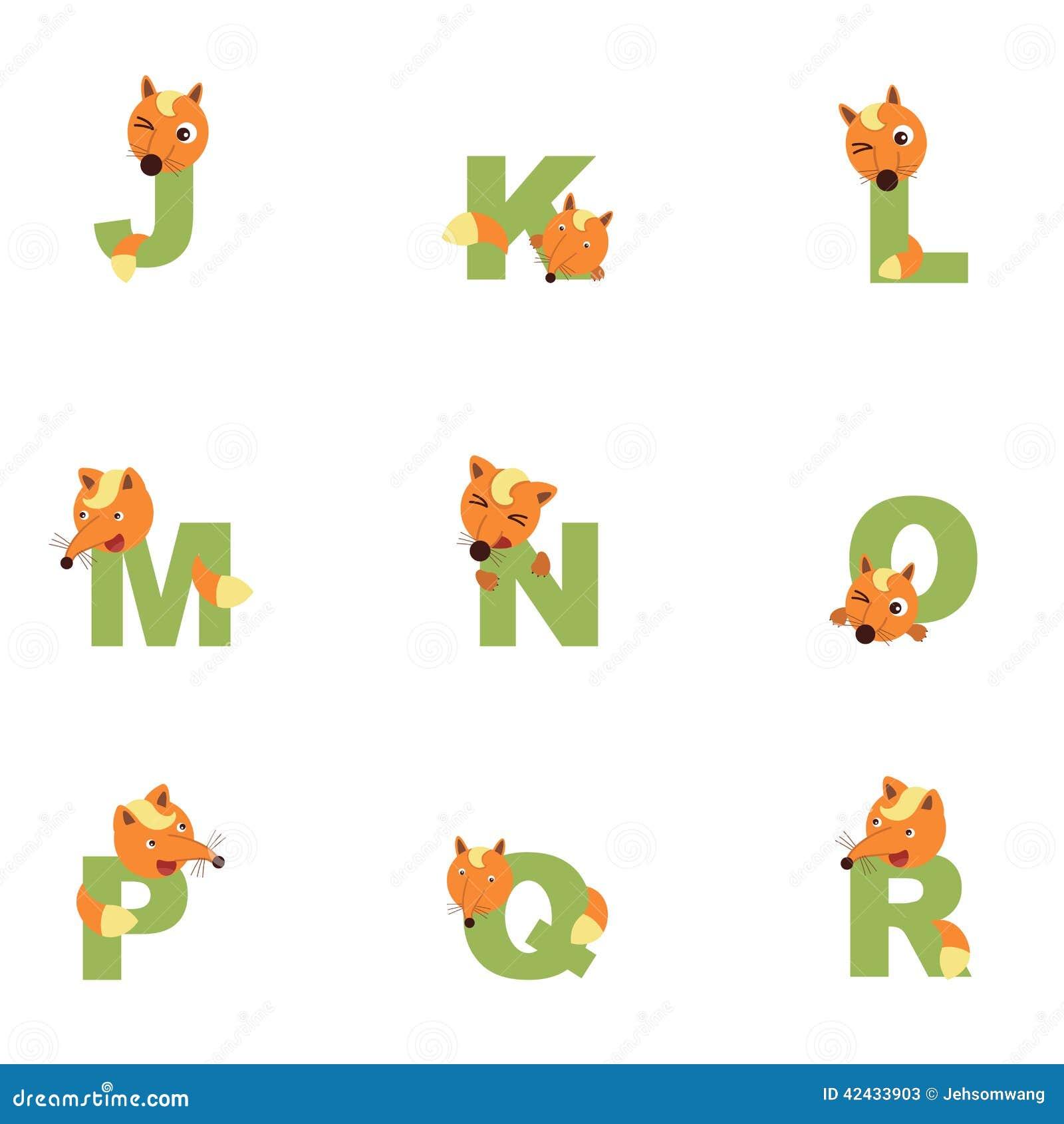 Alfabeto J-R Fox