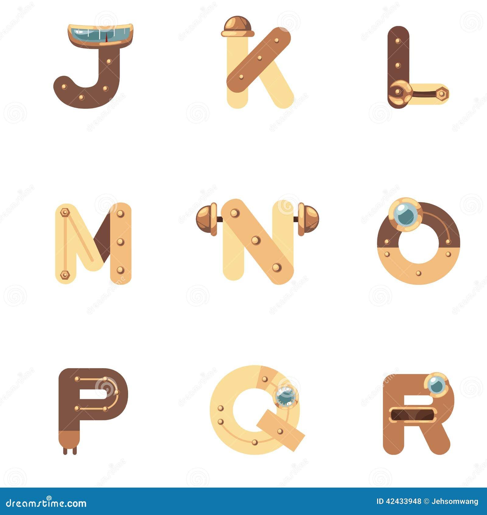 Alfabeto J-R Robot