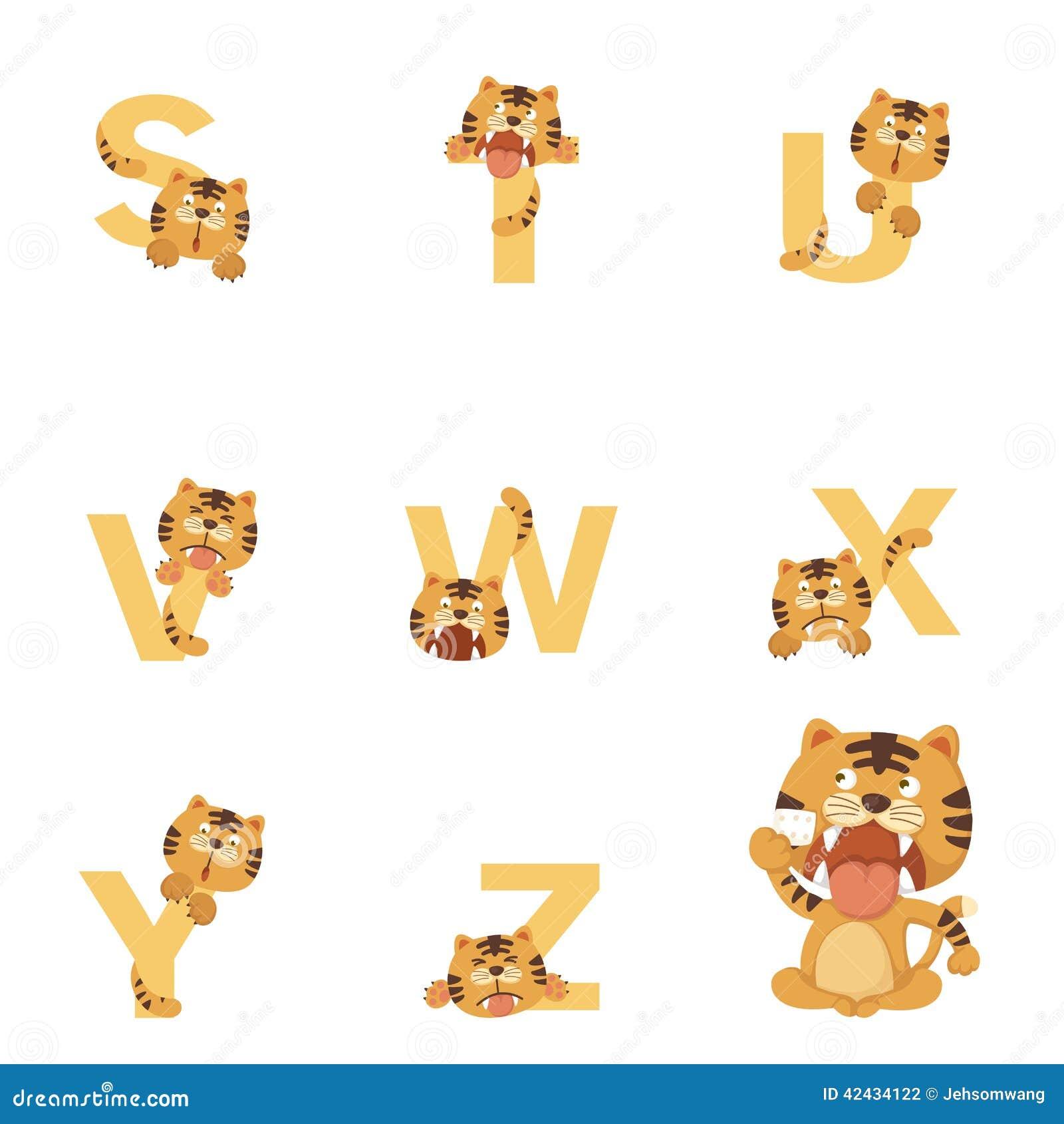 Alfabeto S-Z Tiger