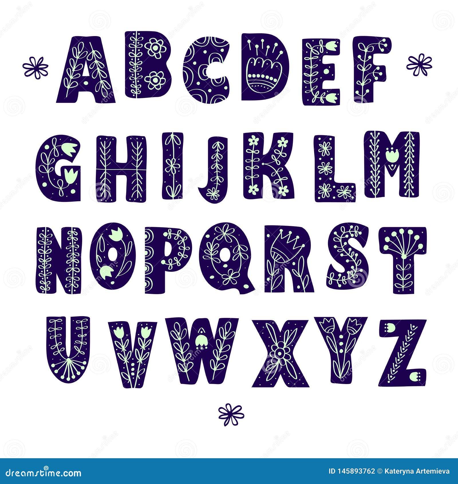 Alfabeto scandinavo piega