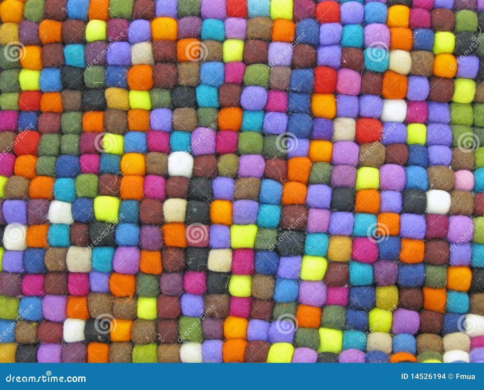 Alfombra de seda turca de la tela colorida colores for Alfombra colores