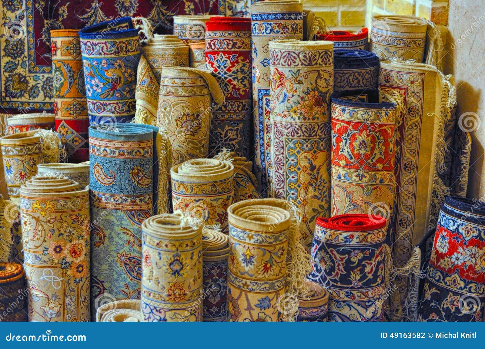 Alfombras persas foto de archivo. Imagen de coloreado ...