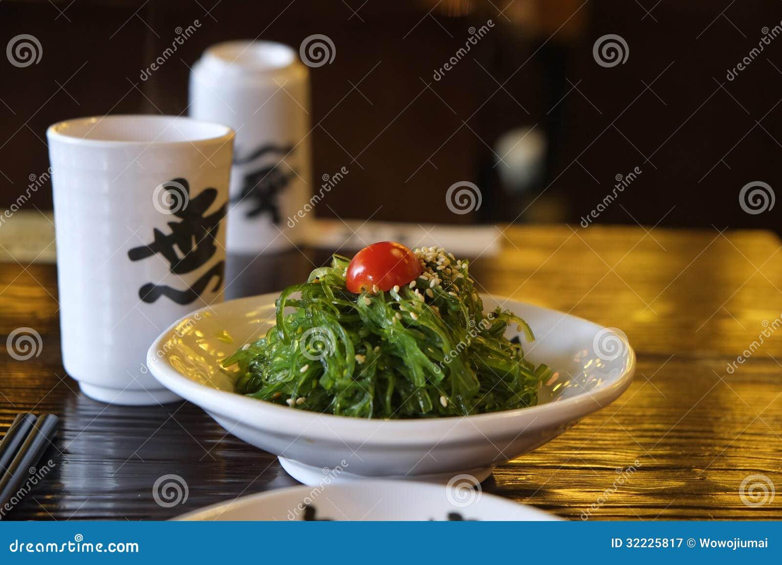 Download Alga do prato frio imagem de stock. Imagem de alimento - 32225817