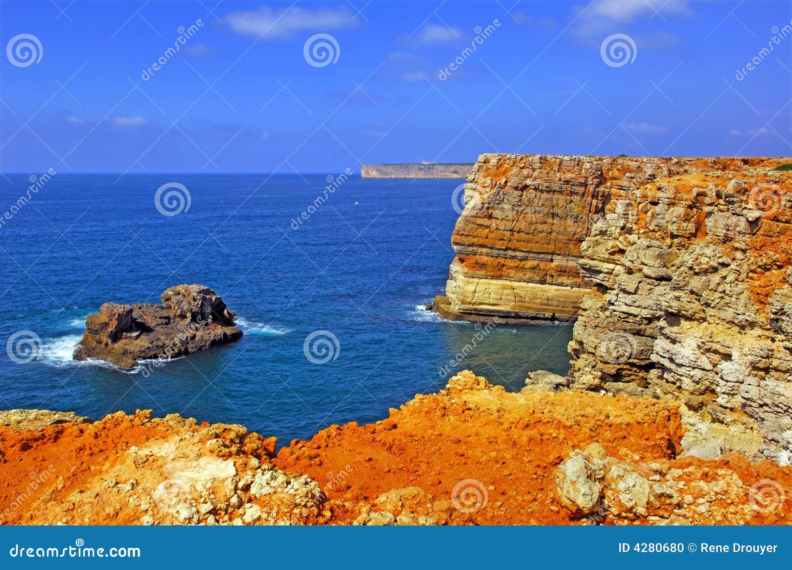 Algarve linię brzegową sagres Portugal