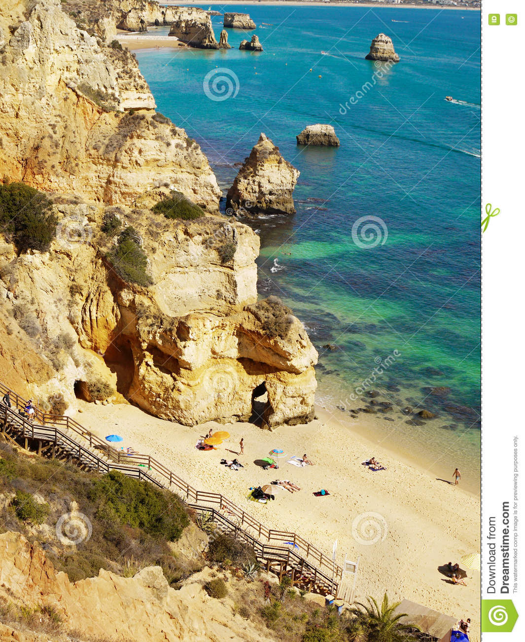 History Timings Attractions Beach: Algarve, Portugal Editorial Stock Image. Image Of Algarve