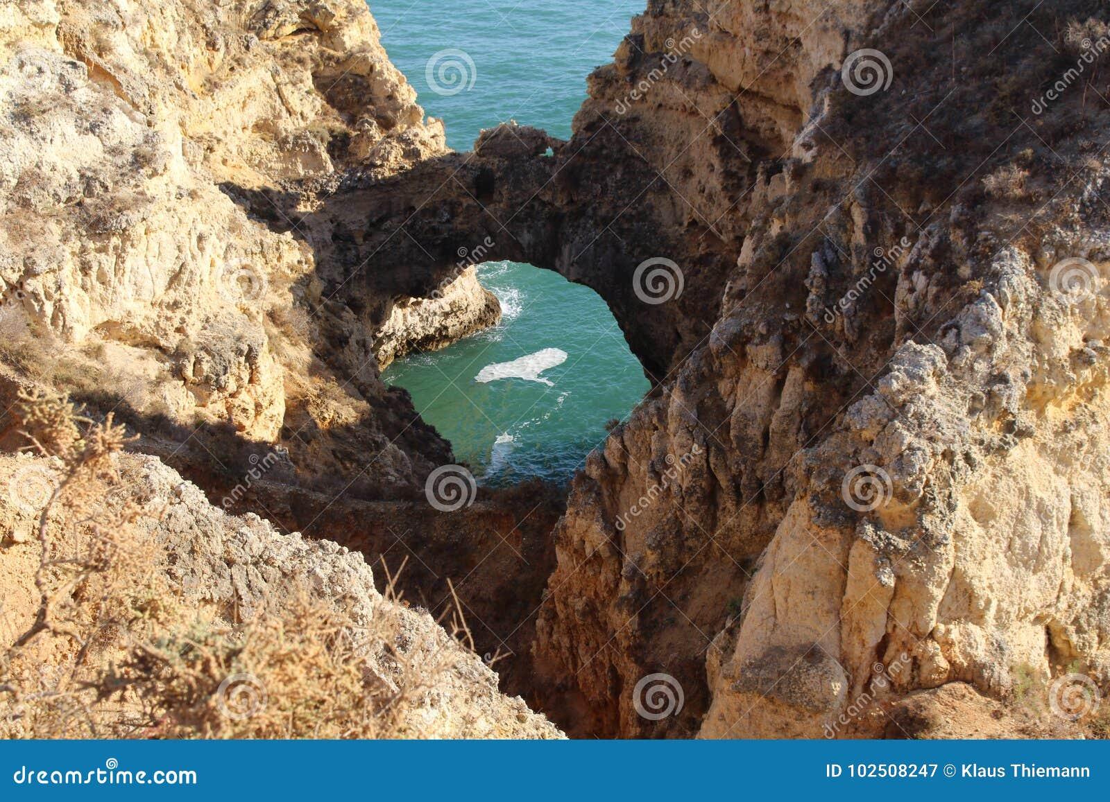 Algarve sławny region w Portugalia
