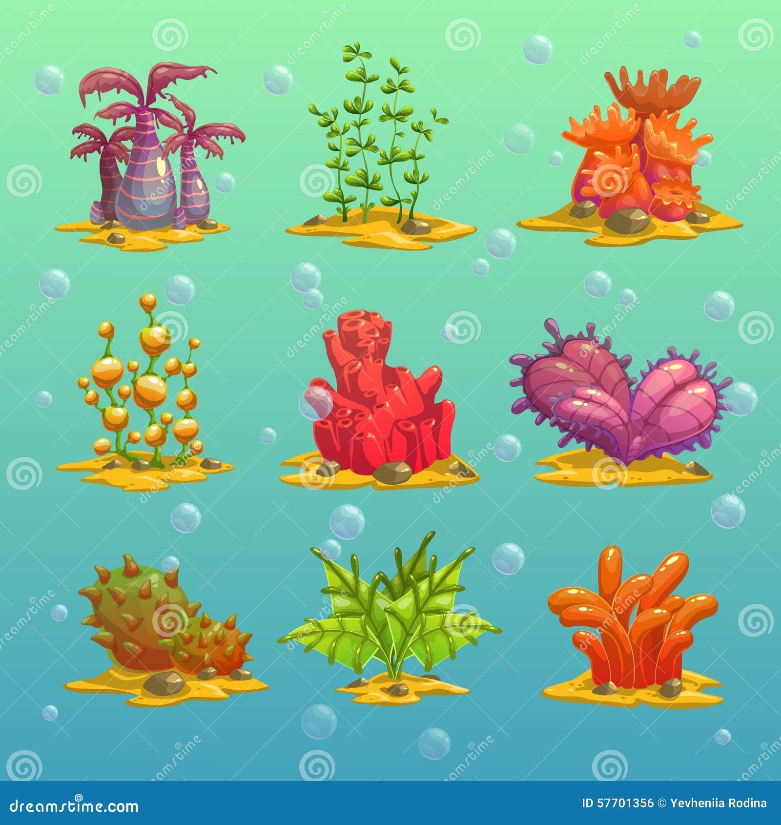 Algas de la historieta