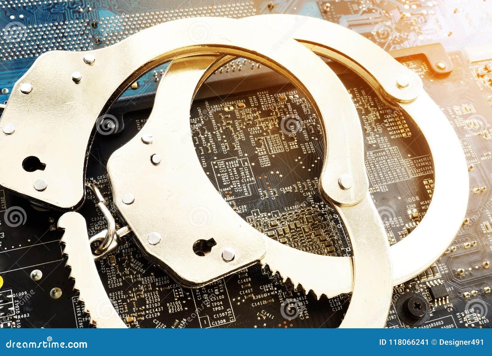Algemas e dispositivos eletrónicos Crime ou fraude do Cyber