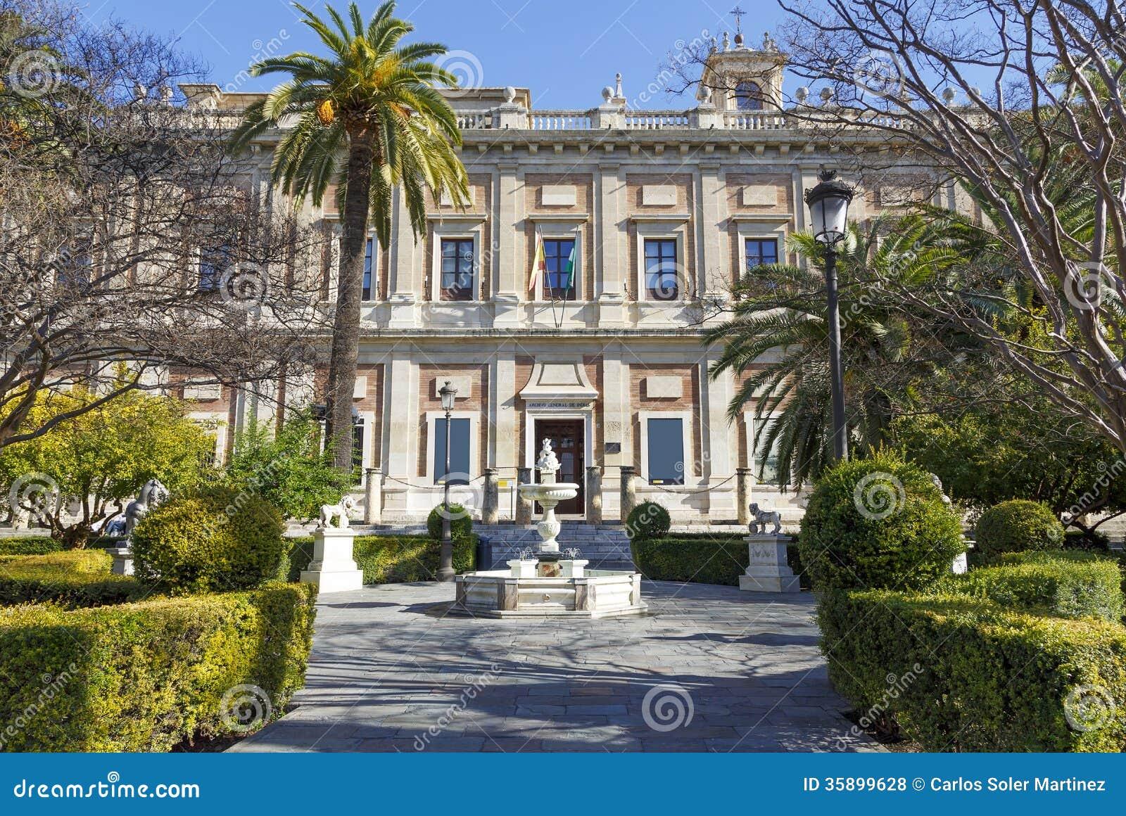 Algemeen Archief van Brits-Indië, Sevilla