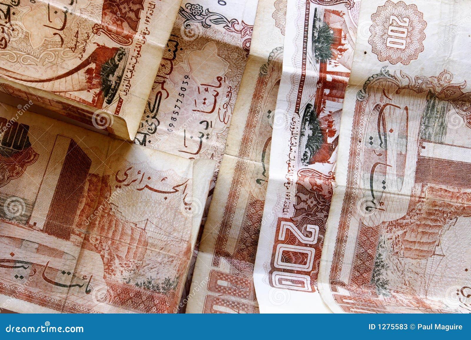 Algerisk dinar
