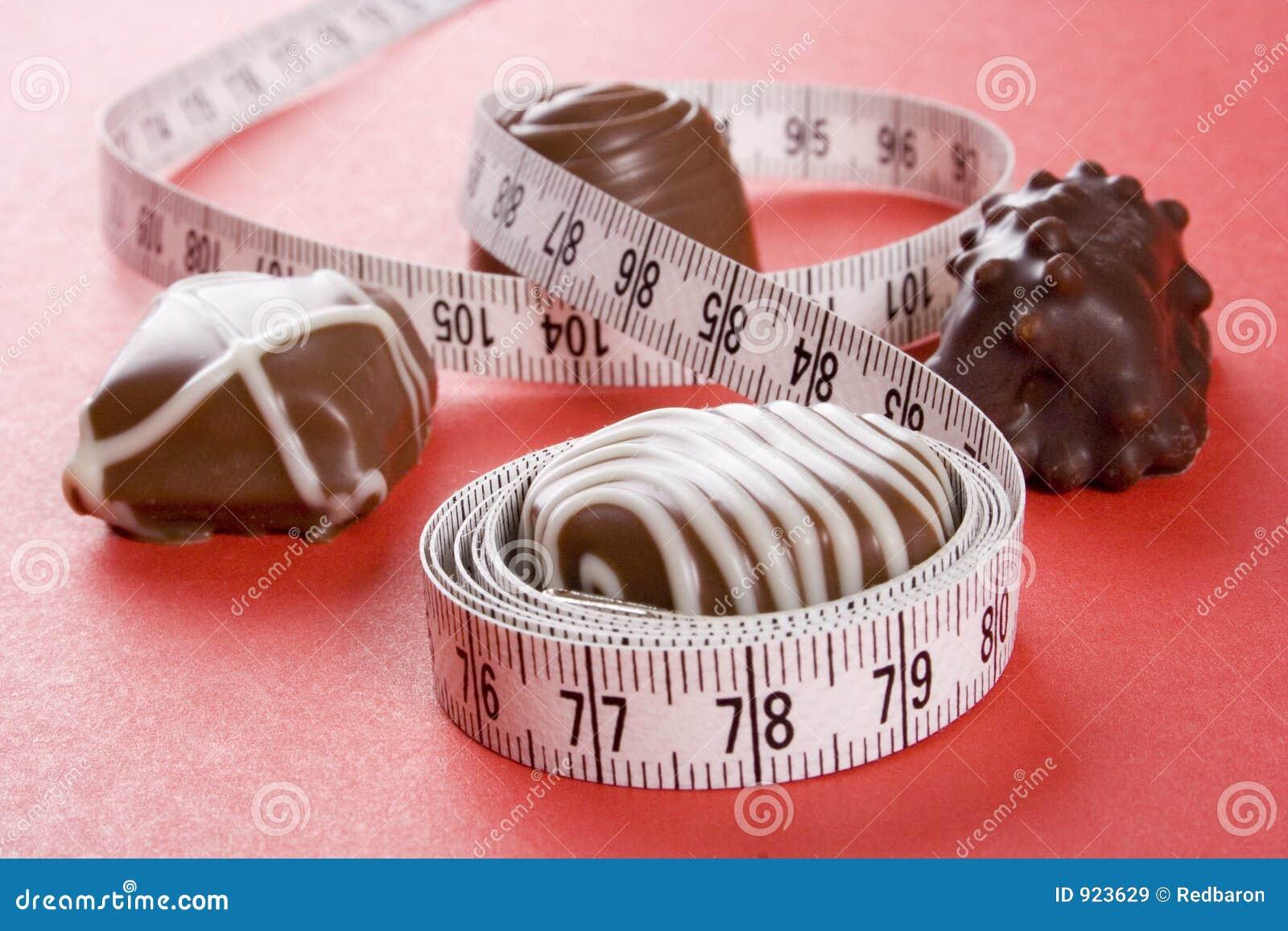 Algo de chocolates y de la medida