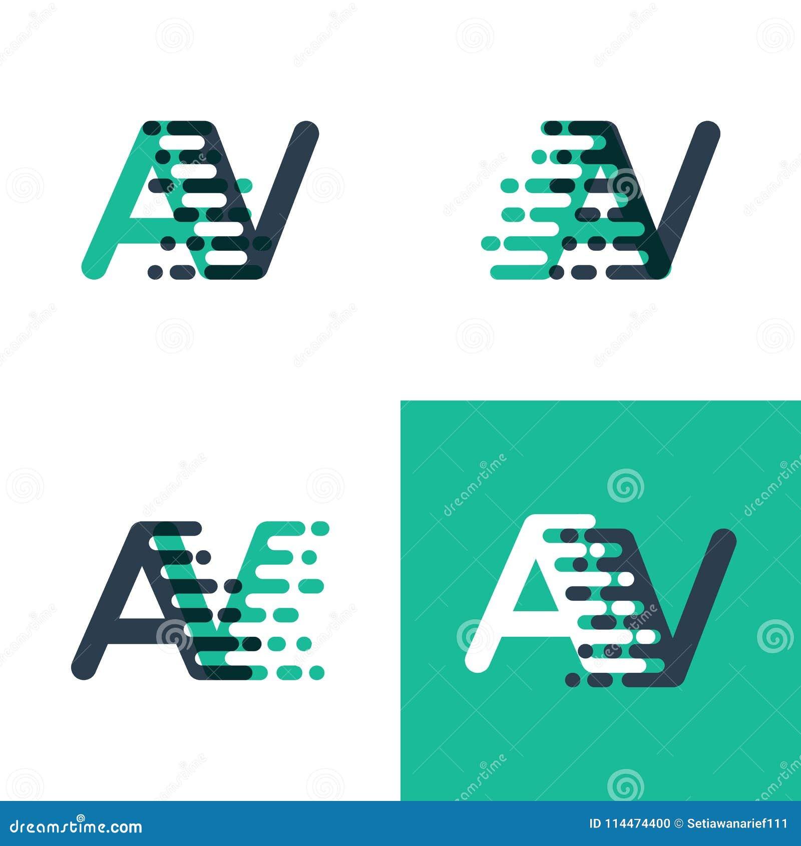 54116814d Algo gosta de algo como o logotipo das letras do avoirdupois com velocidade  do acento no tosca verde e escuro - azul