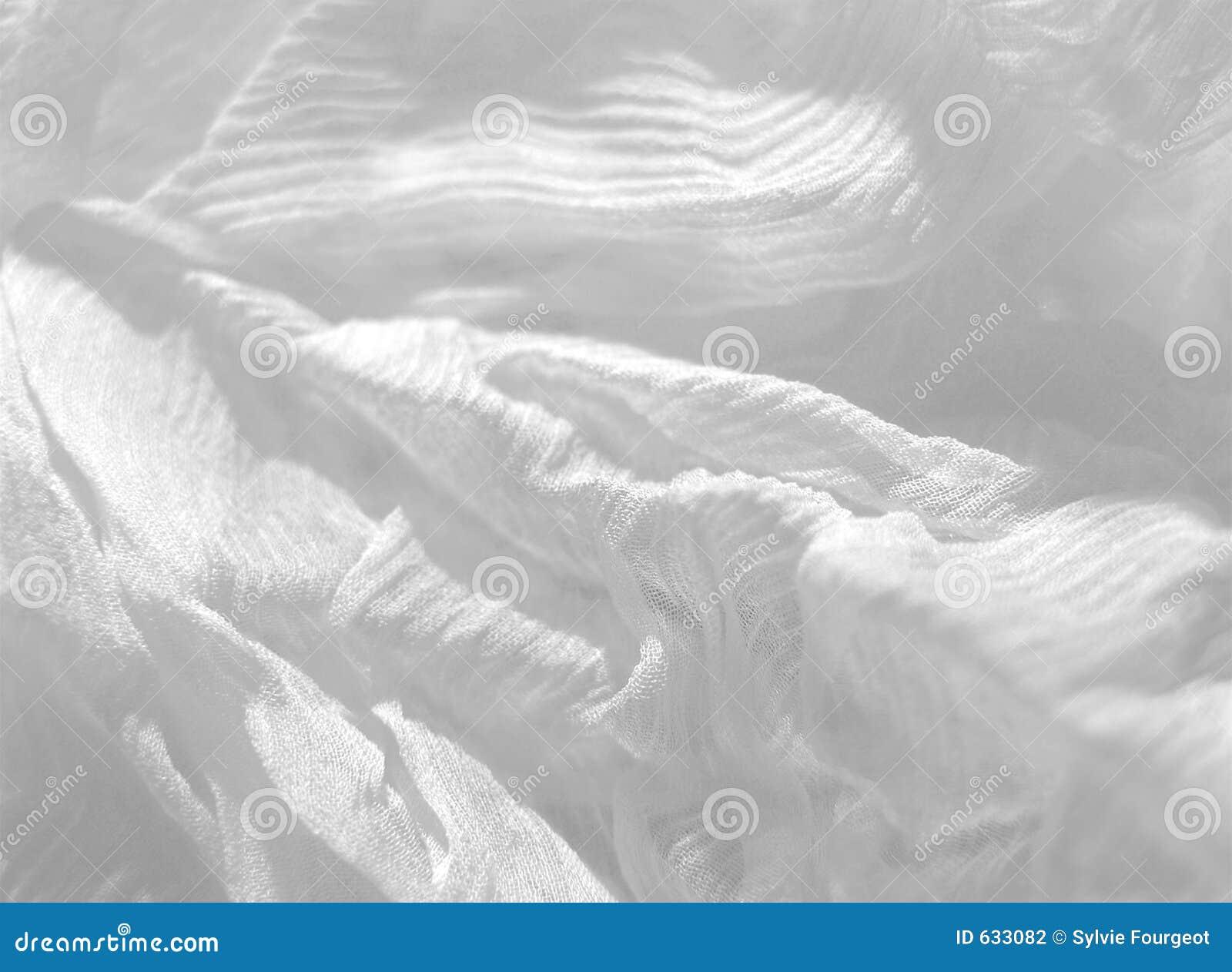 Algodón blanco abstracto