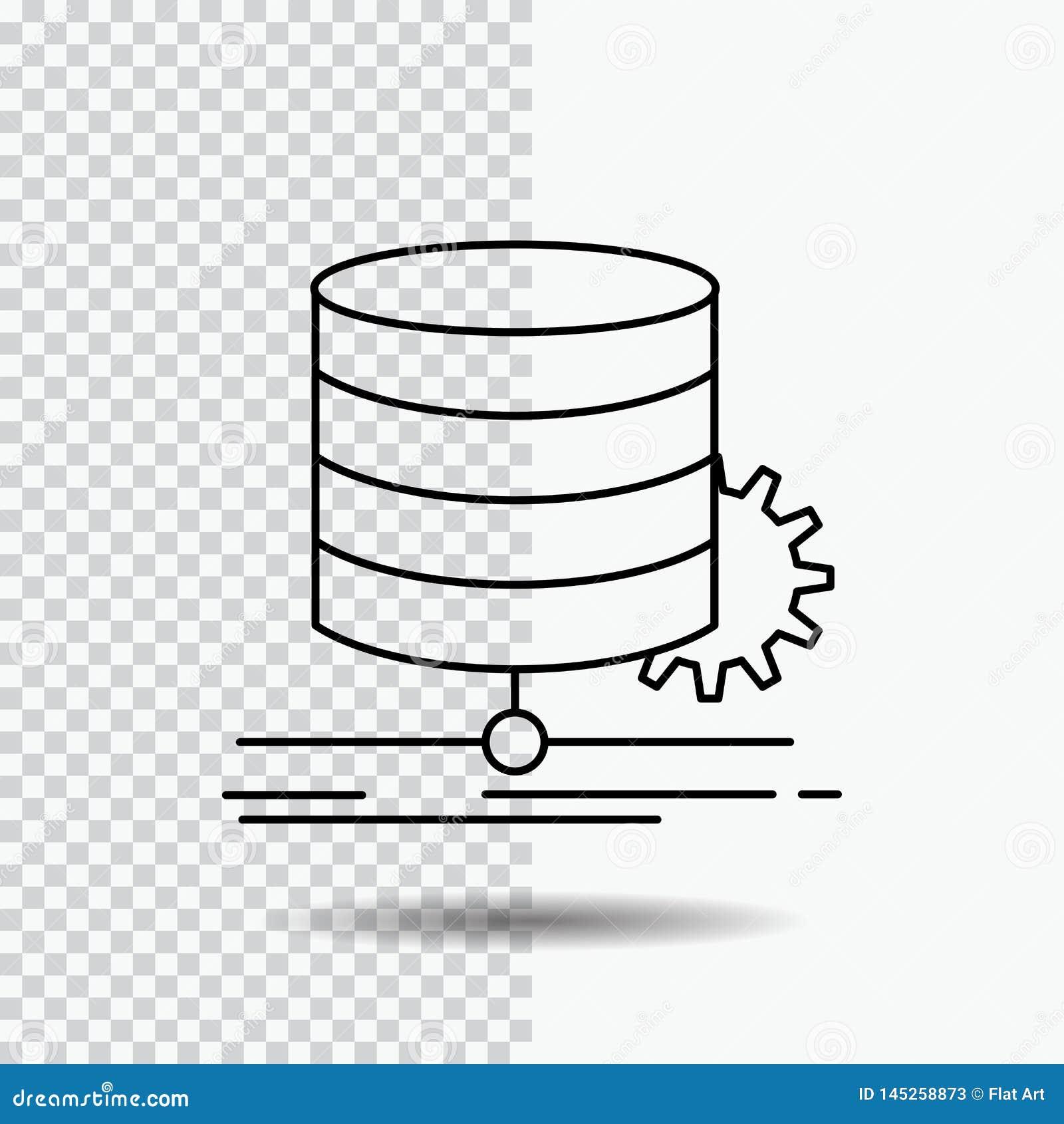 Algoritm diagram, data, diagram, flödeslinje symbol på genomskinlig bakgrund Svart symbolsvektorillustration