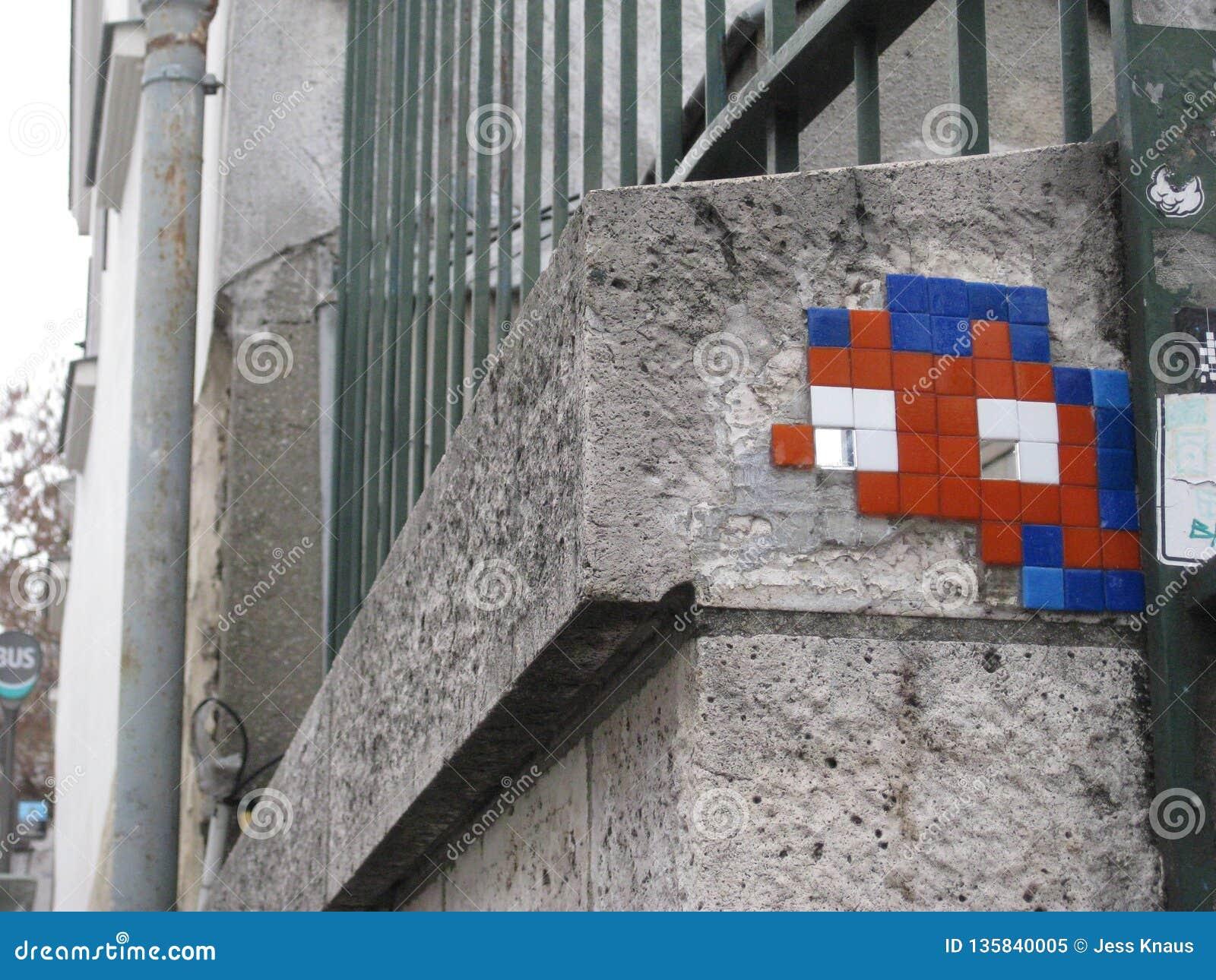 """Alguma arte da rua perto ur do Sacré-CÅ """", Paris"""
