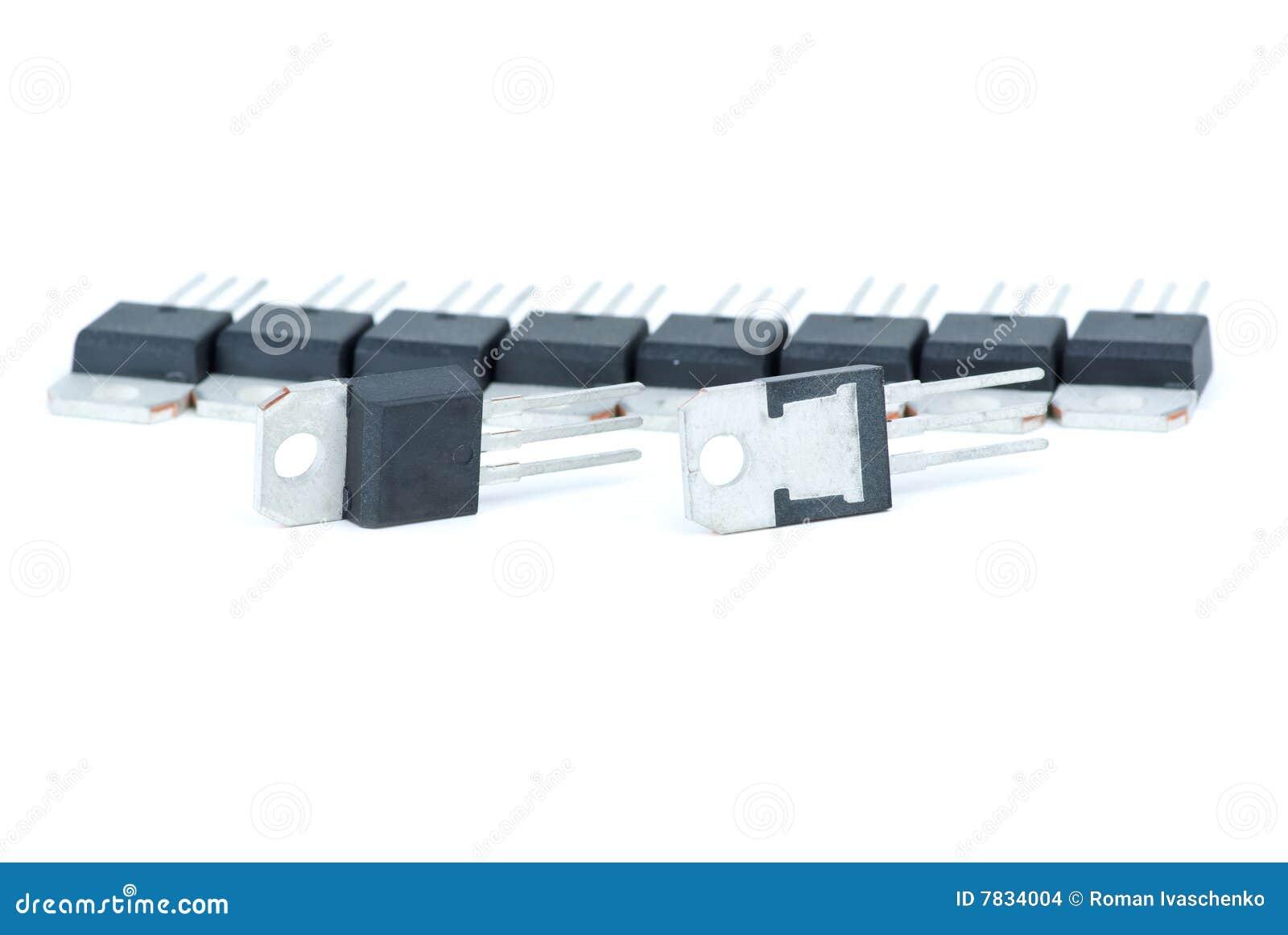 Alguns transistor