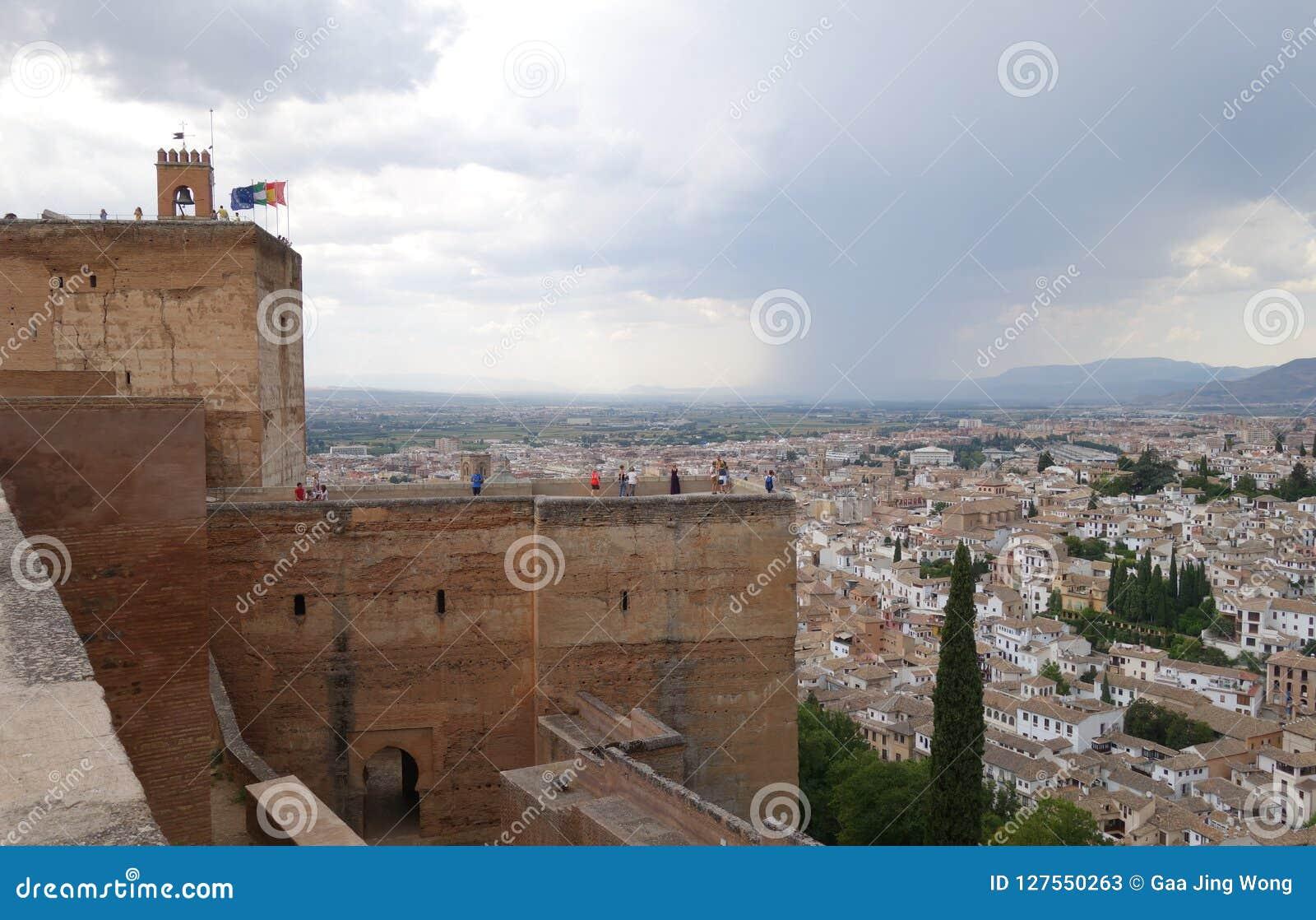 Alhambra in Granada, Spanje
