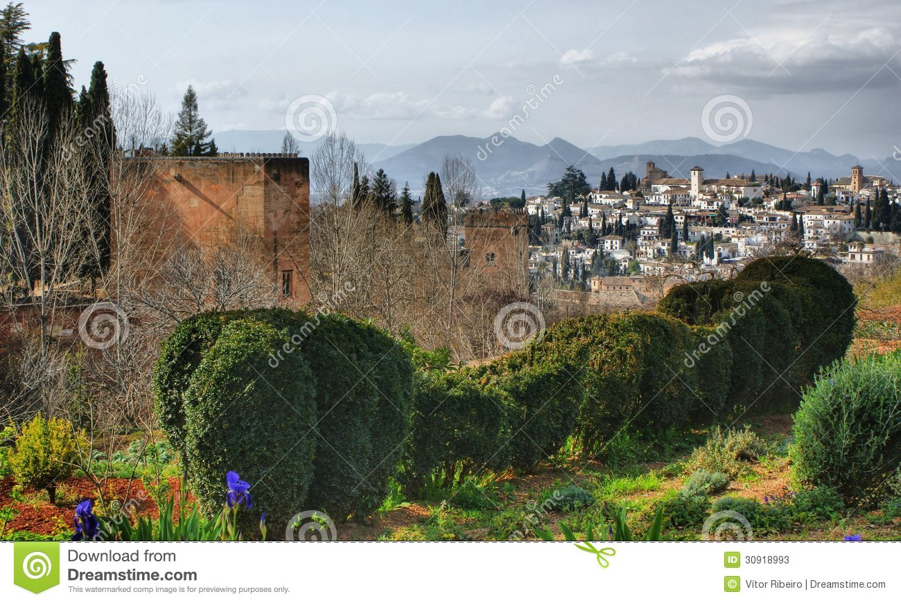 Alhambra Palace & Gardens in Grenade