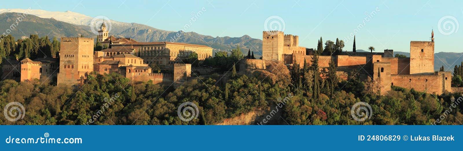 Alhambra panorama