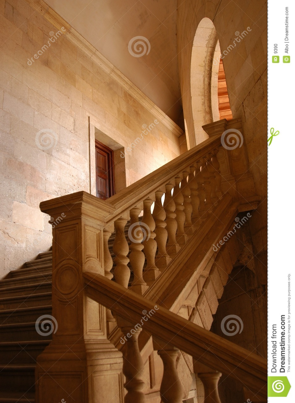 Alhambra stairs