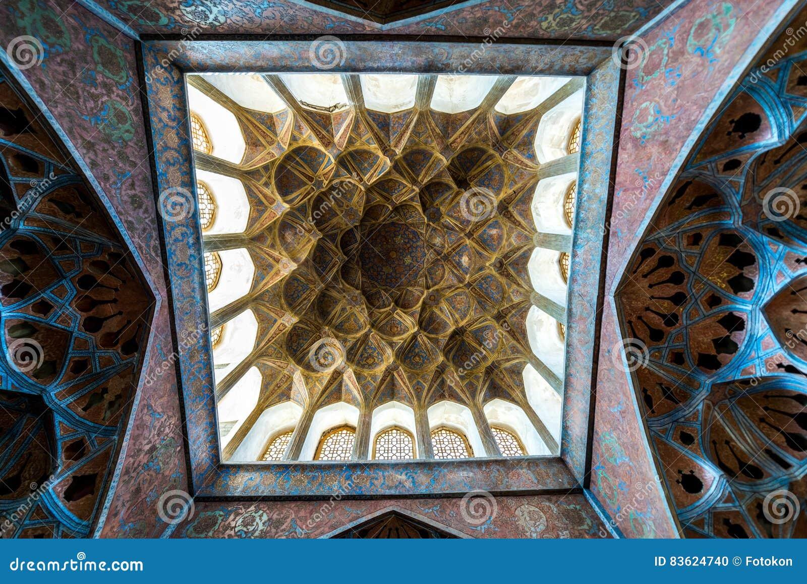 Ali Qapu palace stock photo  Image of iran, islamic, naqsh