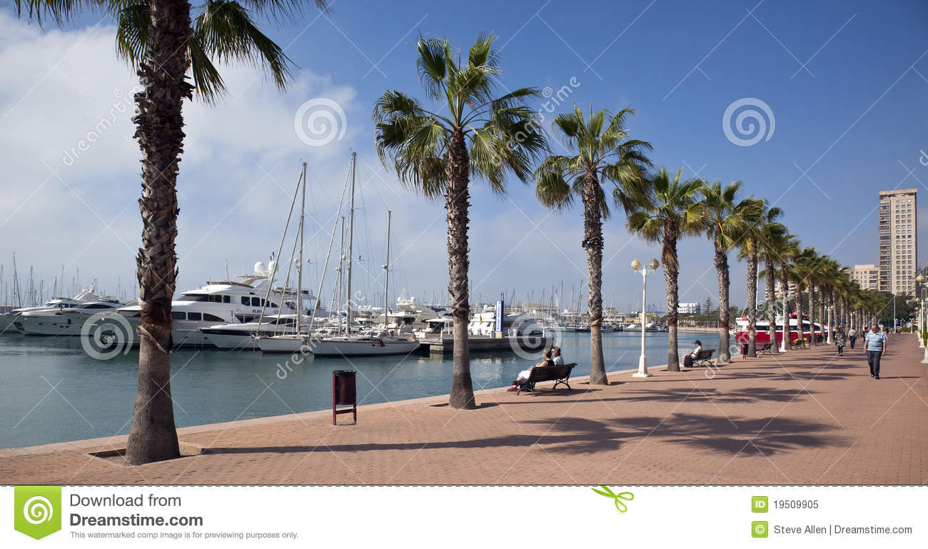 Alicante - Costa Blanca Spain  city photos gallery : Alicante Costa Blanca Spain Editorial Image Image: 19509905