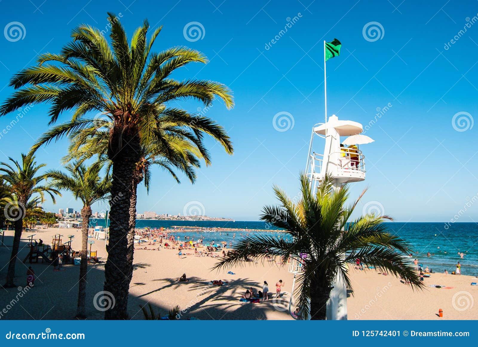 Alicante Playa de San Juan