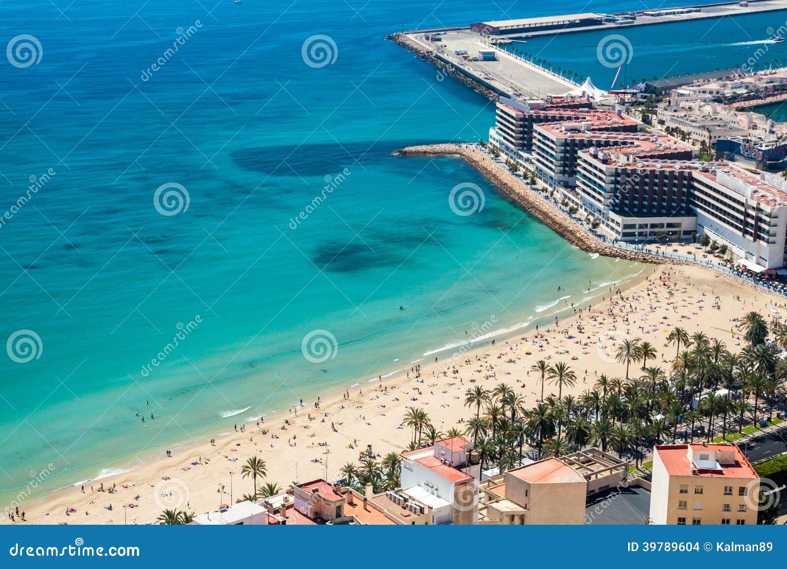 Alicante-Strand und -küste