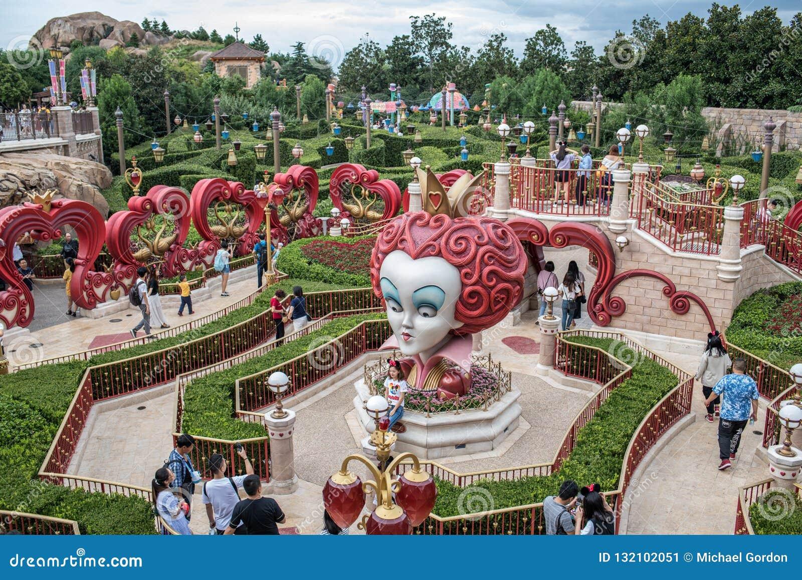 Alice Dans Le Labyrinthe Du Pays Des Merveilles à Changhaï