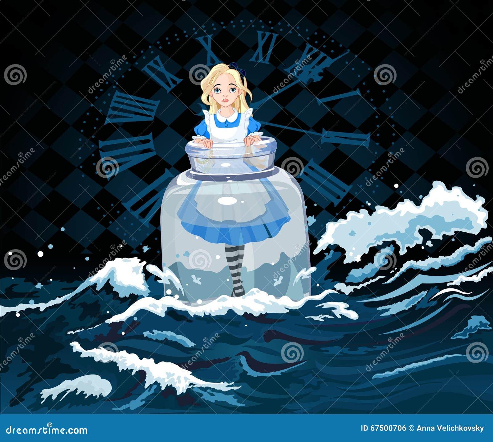 Alice im Glas