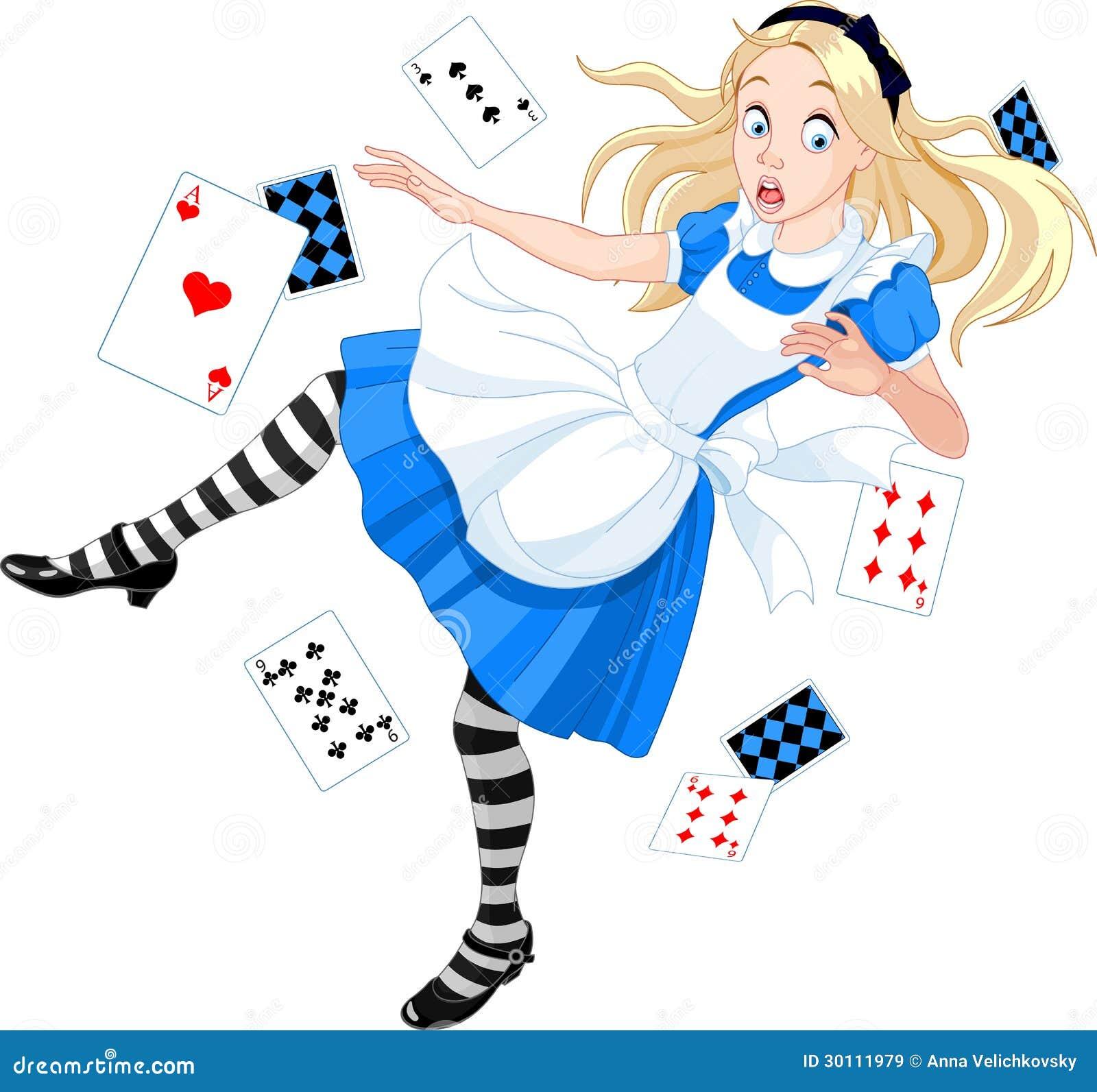 Alice en baisse images libres de droits image 30111979 for Alice dans le miroir balthus