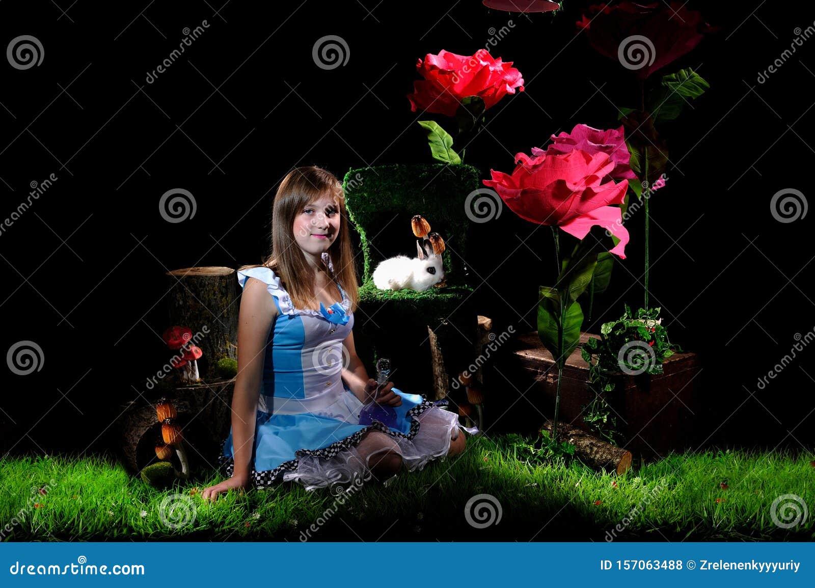 Alice In Wonderland Stock Photo Image Of Magic Concept 157063488