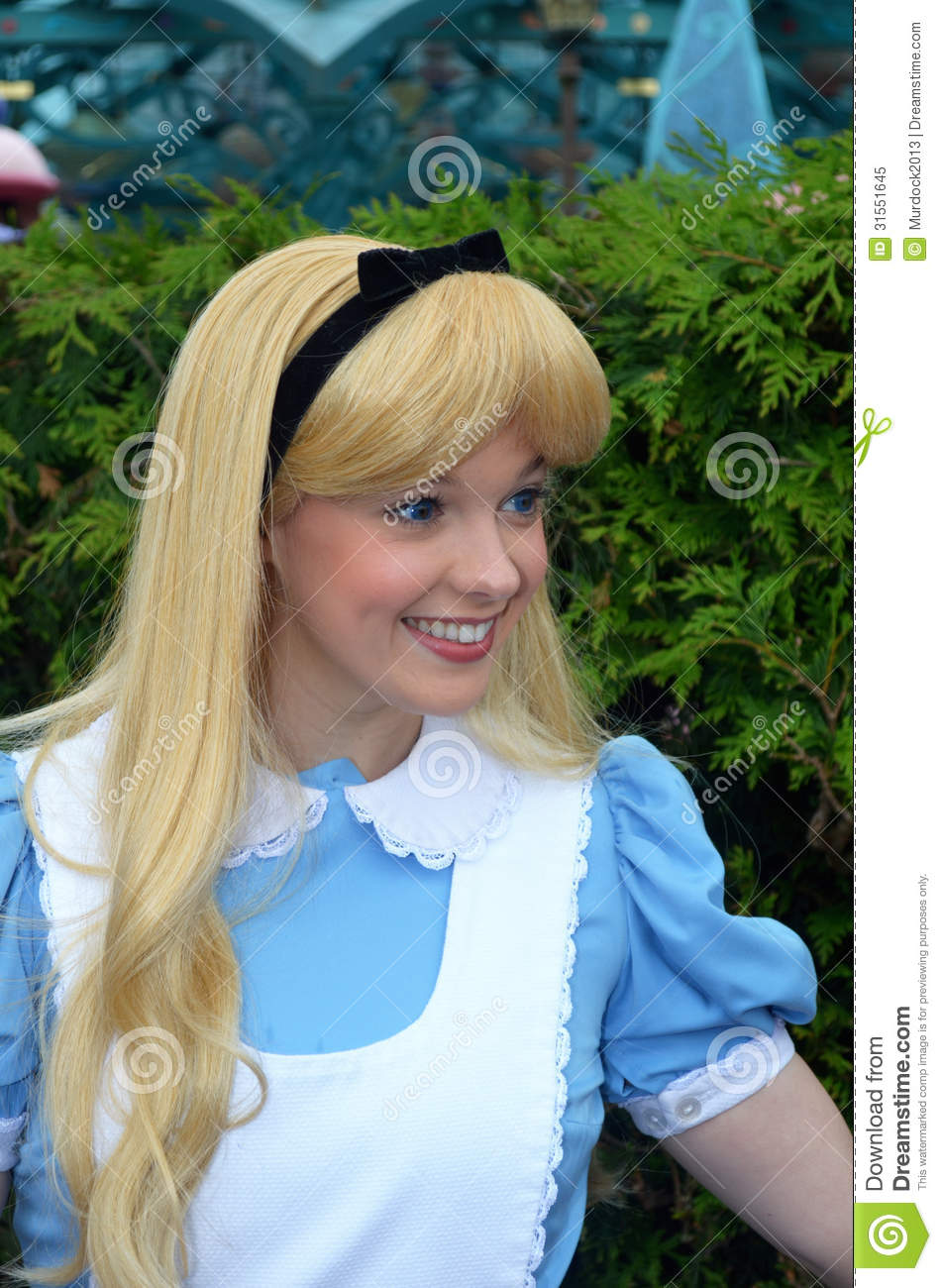 Disney Alice In Wonderland Editorial Image Image Of
