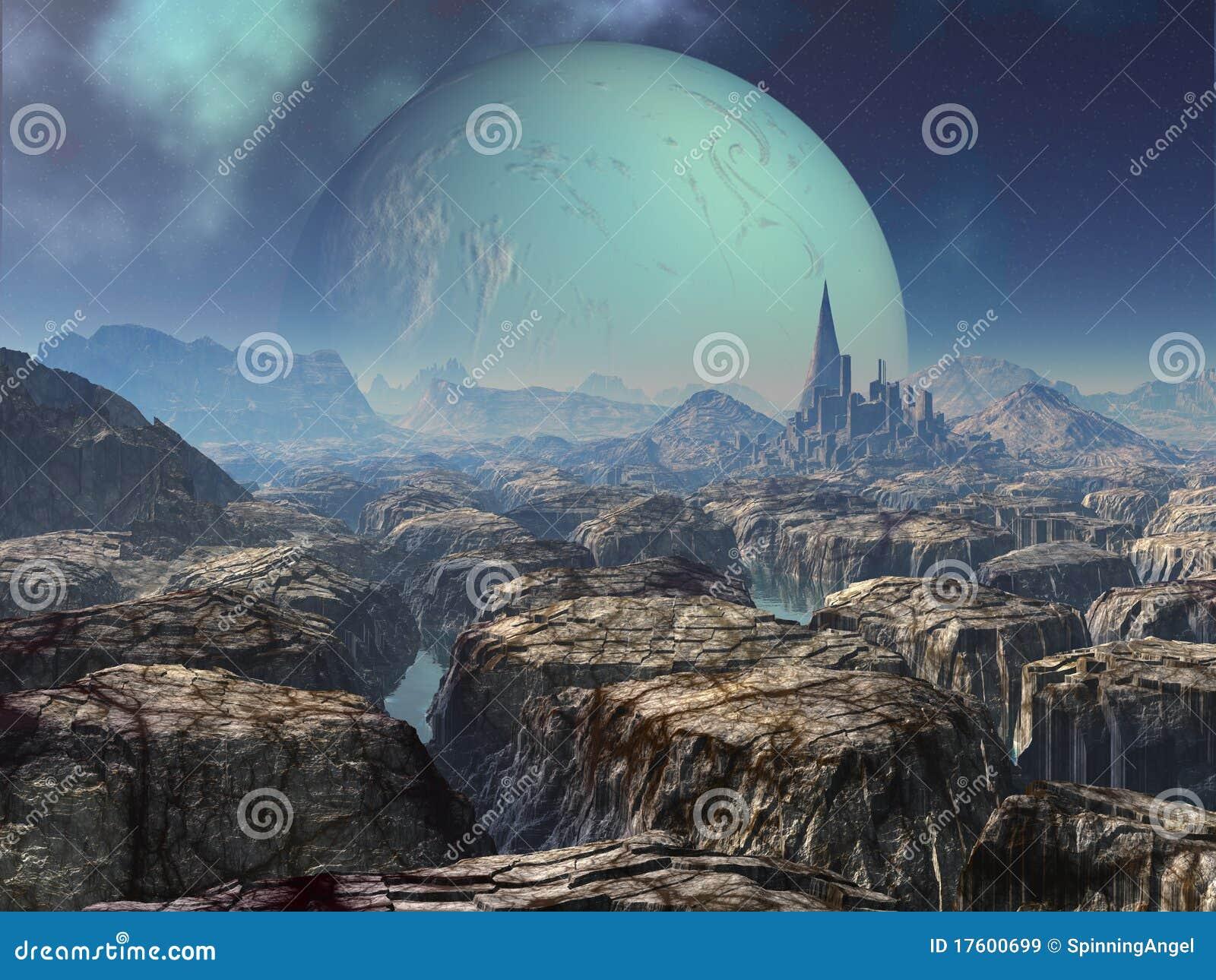 Alien стародедовские руины города