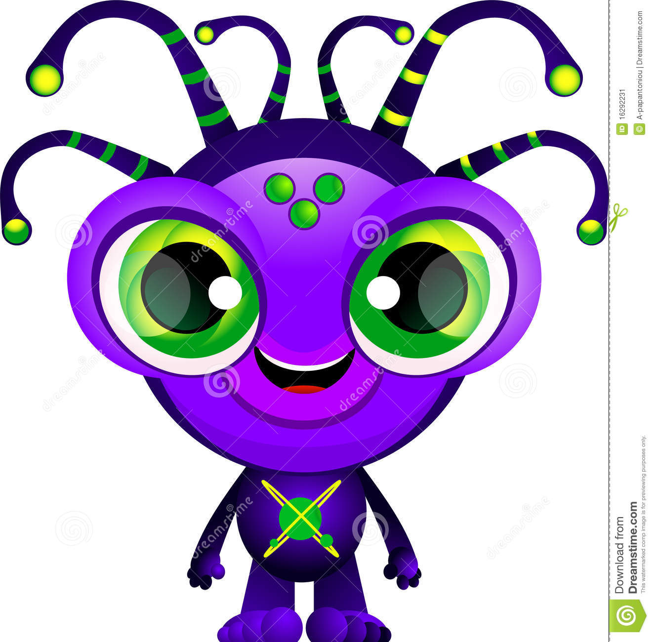 alien stock image image 16292231 funny thank you clipart free Thank You Animated Clip Art