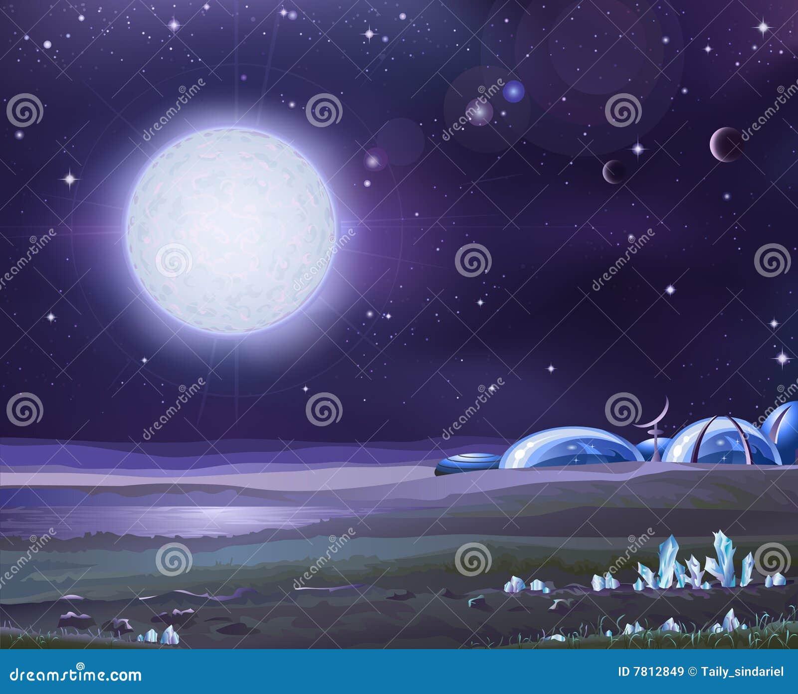 alien base royalty free stock images image 7812849