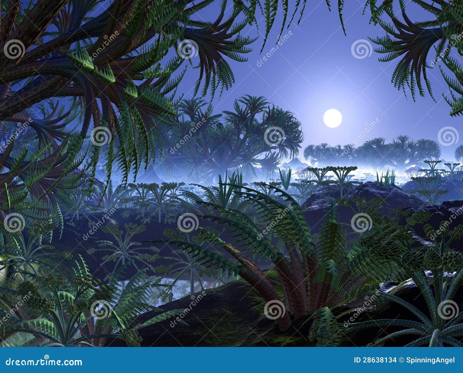 Alien Jungle World