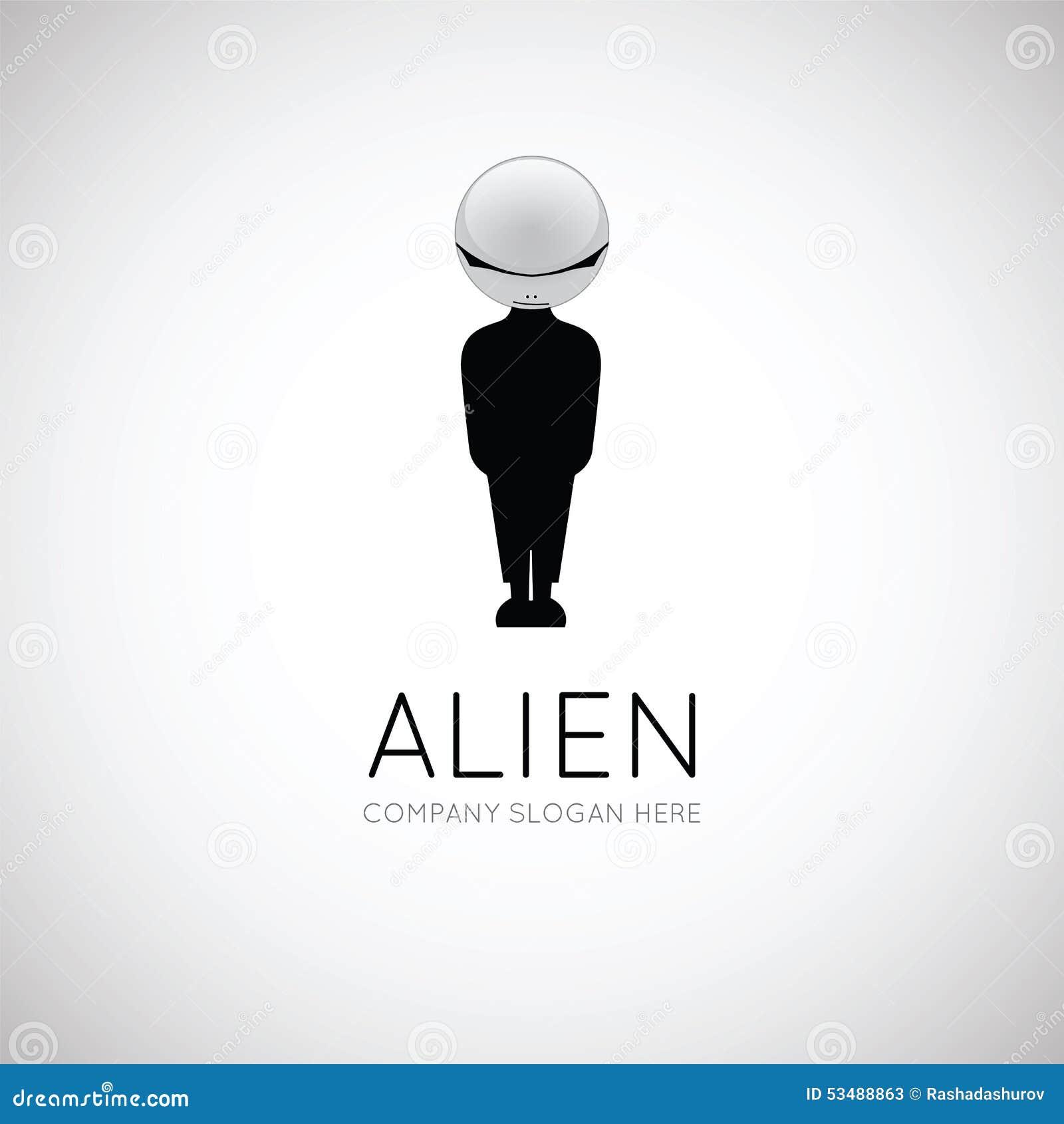 Alien Symbol Stock Vector Illustration Of Extraterrestrial 53488863