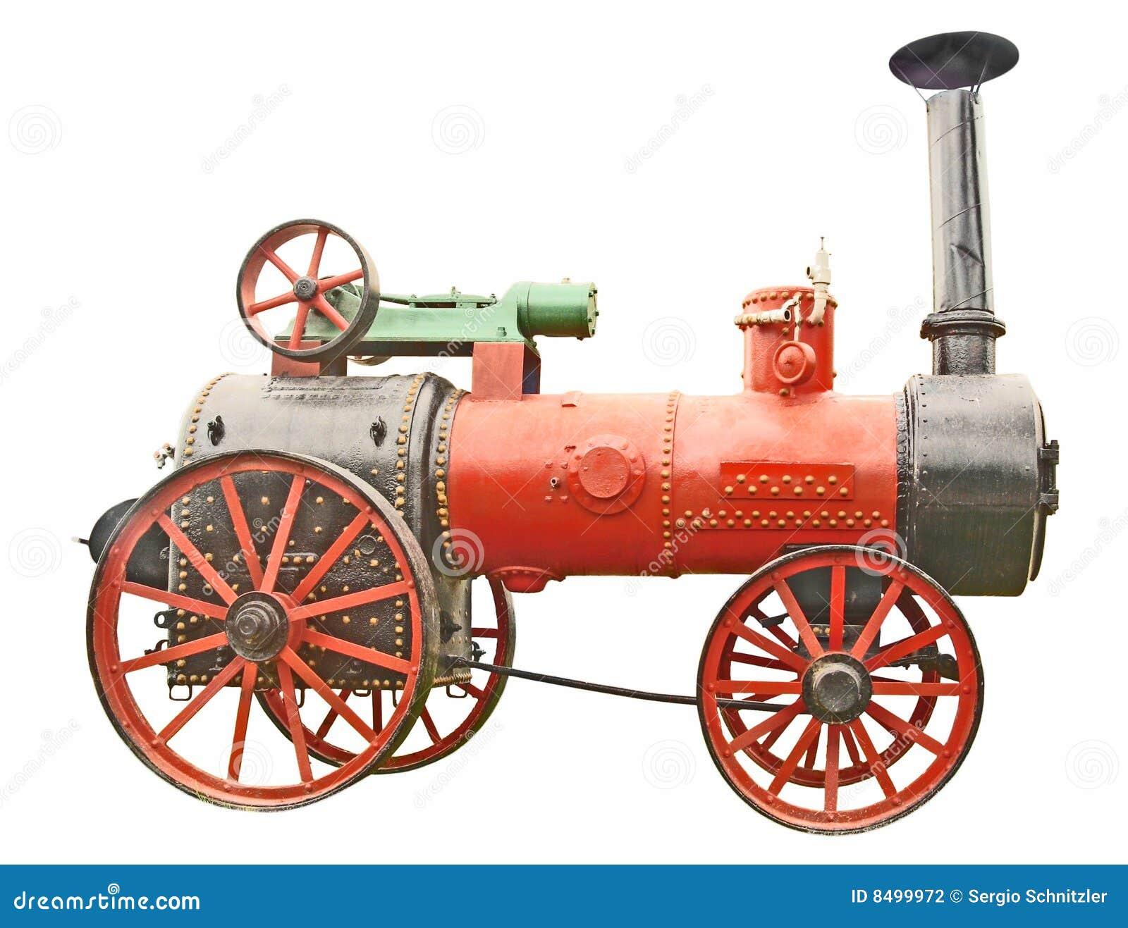 Alimentador antiguo del vapor