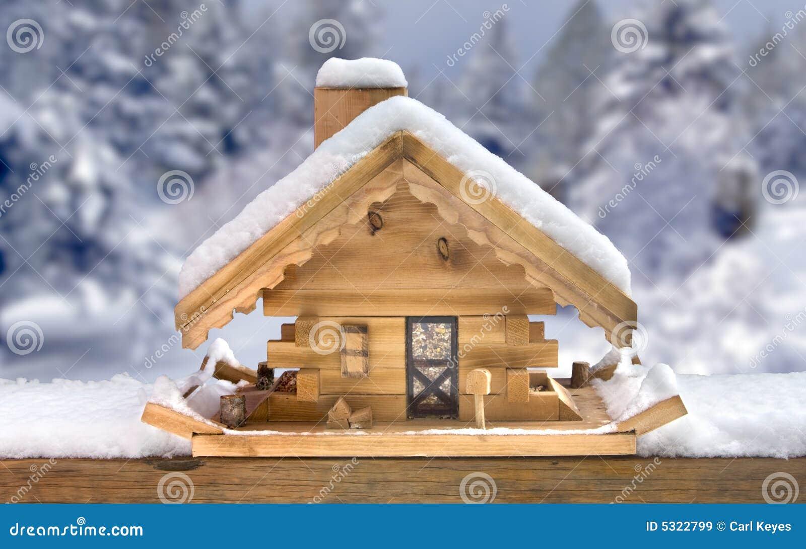 Download Alimentatore Della Camera Dell'uccello In Inverno Immagine Stock - Immagine di nave, alimentazione: 5322799