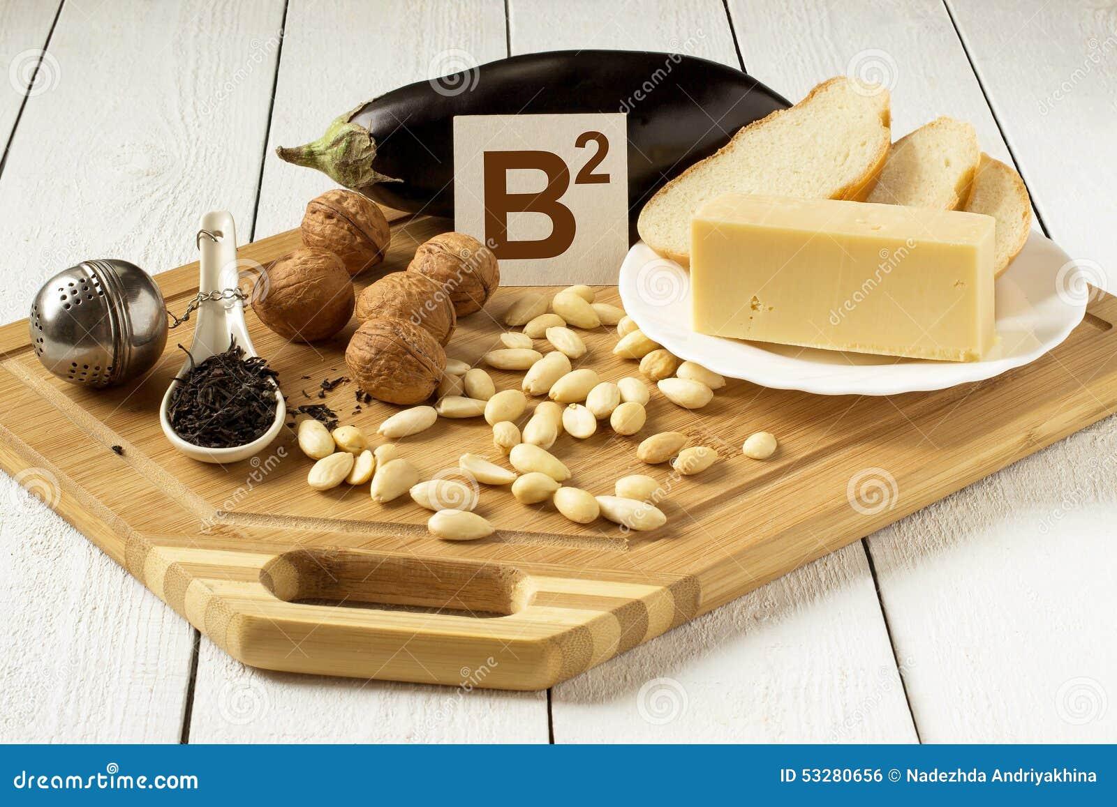 Alimenti ricchi in vitamina B2