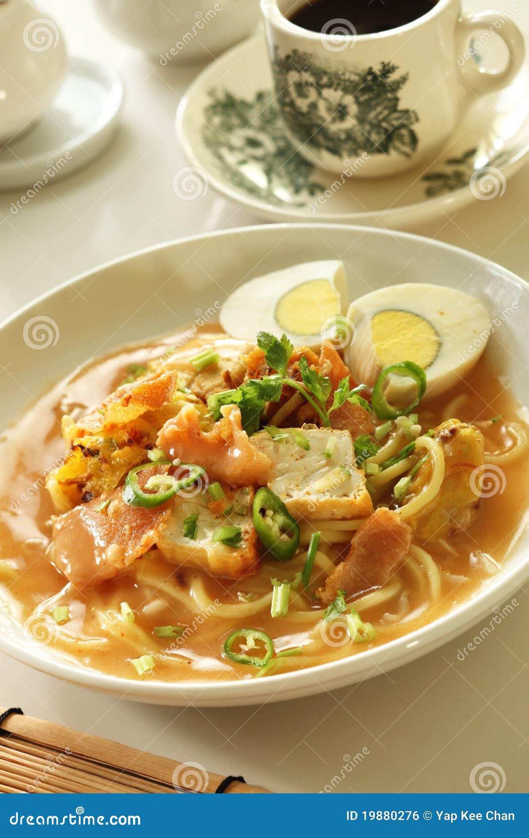 Alimento asiatico della tagliatella