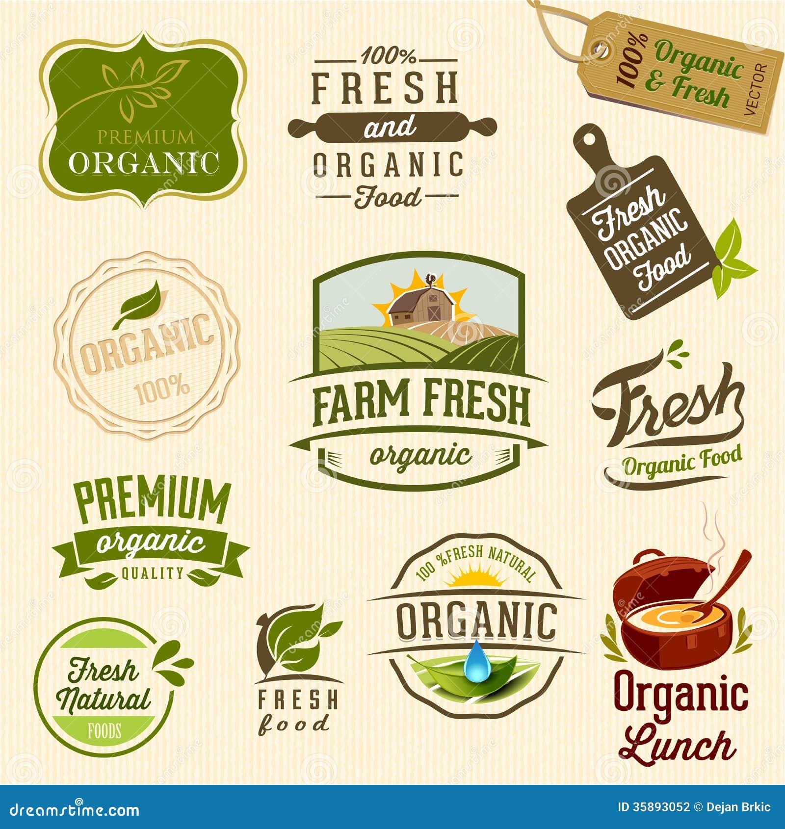 Alimento biológico - ejemplo