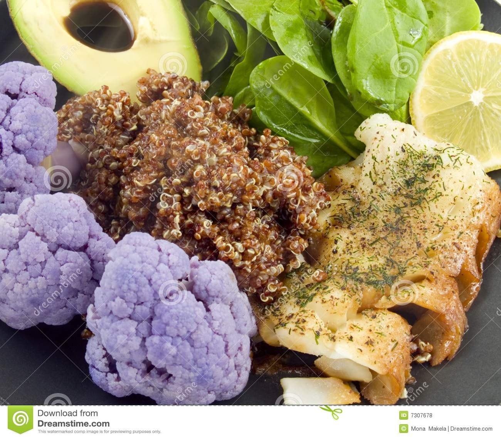 Alimento caldo sano