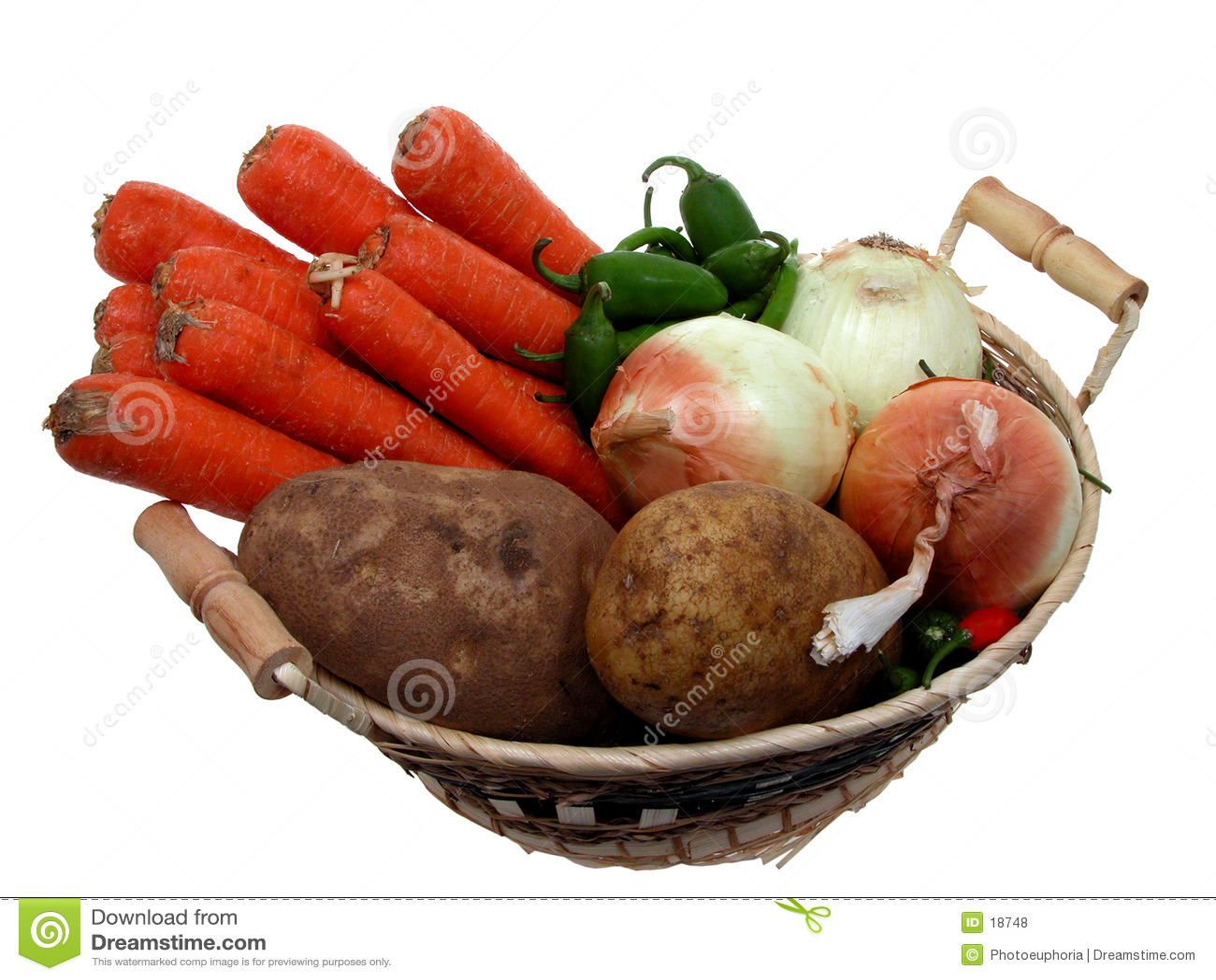 Alimento: Cesta del Veggie