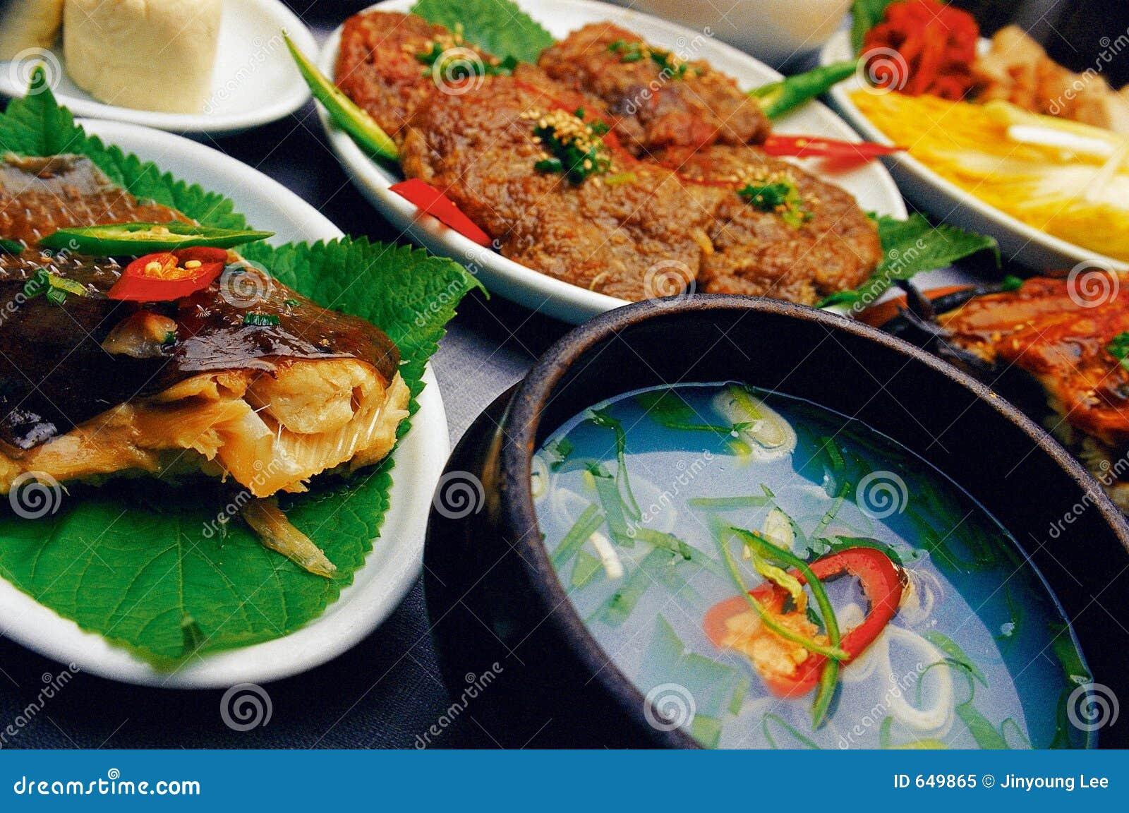 Alimento coreano
