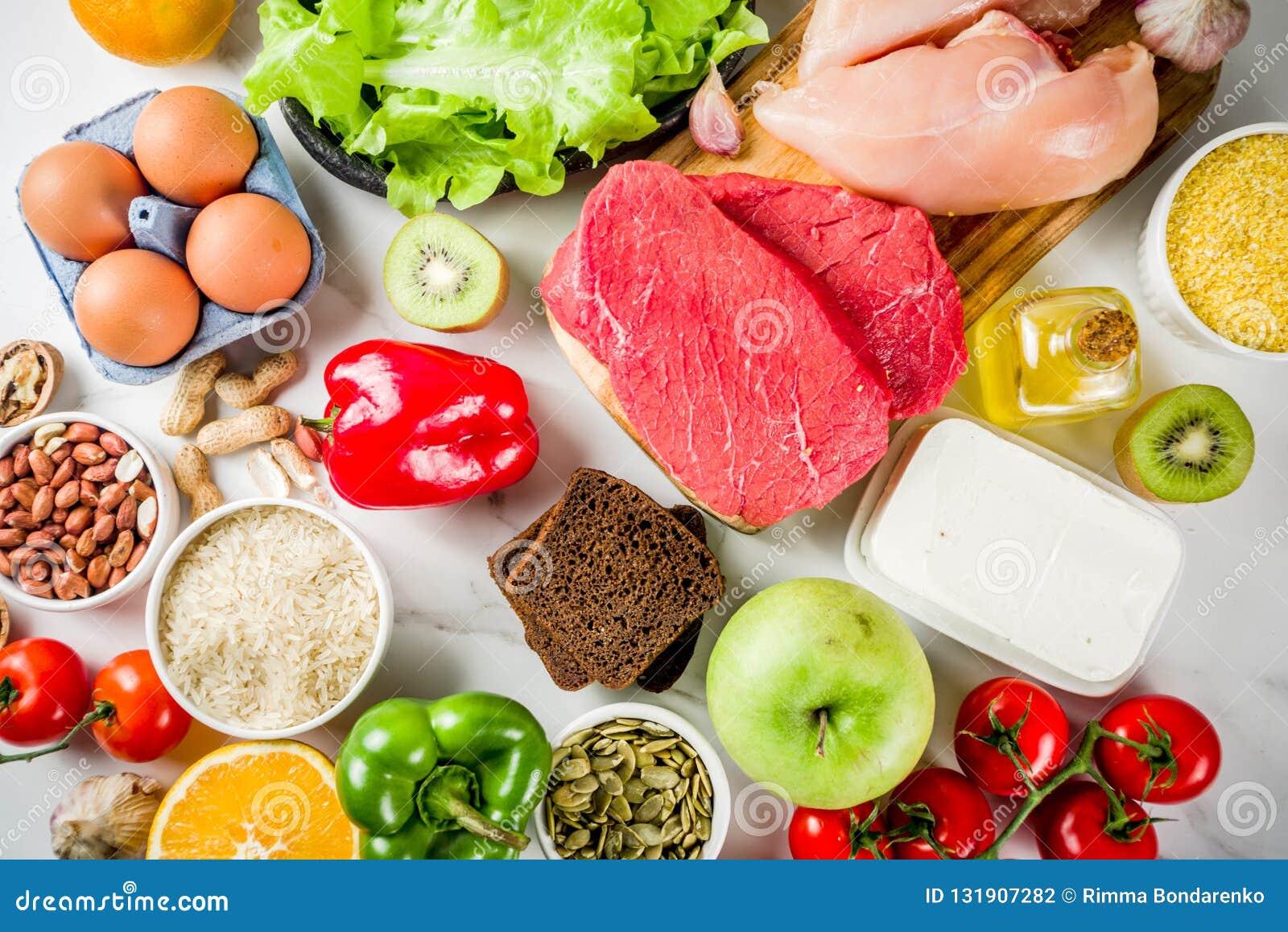 Alimentos para dieta saudavel