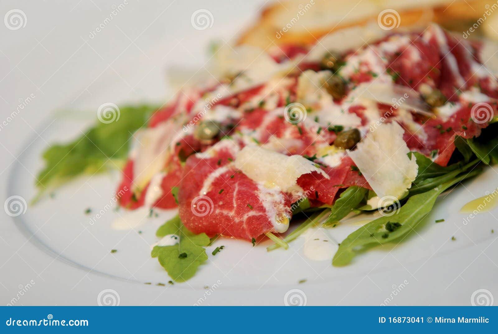 Alimento de la carne de la carne de vaca